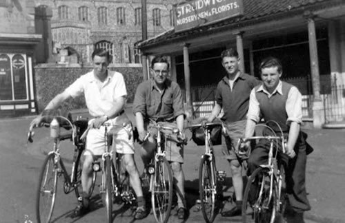 Club riders in 1939